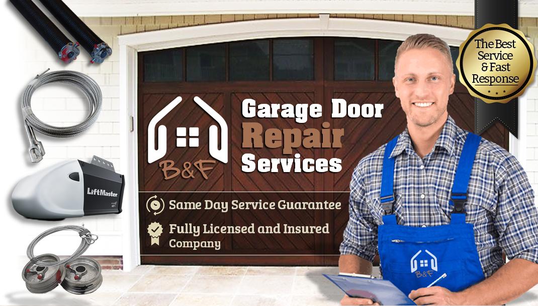 Best & Fast Garage Door Repair Services Main Banner